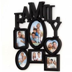 RAMKA NA ZDJĘCIA 6 ramek FAMILY 50 cm x 40 cm