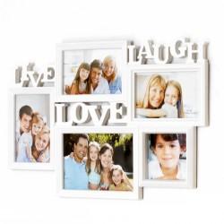 Ramka ramki na zdjęcia LIVE LOVE LAUGHT 5 zdjęć